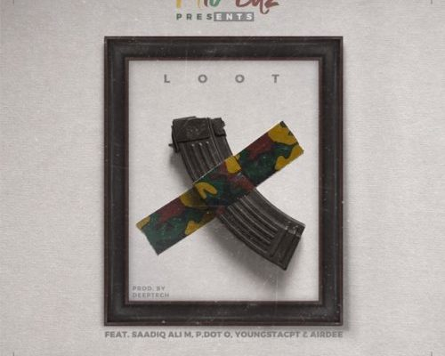 "Mic Bitz enlists Youngsta Cpt, Pdot O & Saadiq Ali M for new joint ""Loot"""