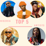 Top 5 Nigerian Music Artists 2019