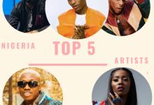 Photo of Top 5 Nigerian Music Artists 2019