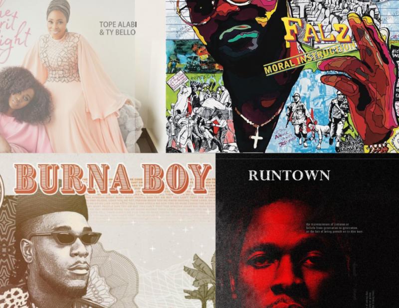 Top 10 Nigerian Music Albums 2019 Top 10