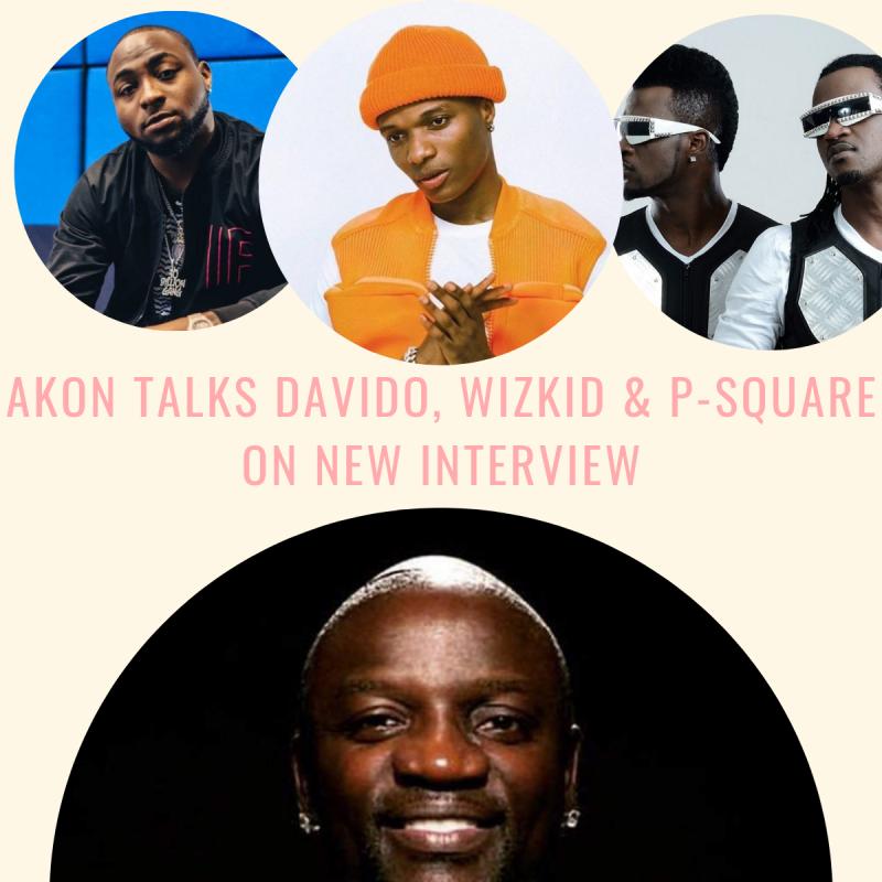 Akon Talks Davido, Wizkid & P-Square On New Interview Image