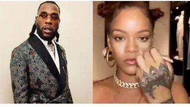 "Photo of See Rihanna Vibing To Burna Boy's 2018 Hit Song ""Ye"""