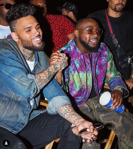 Chris Brown & Davido Perform Together On Stage In the US For The 2nd Time Image