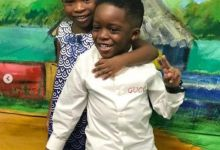 Photo of Davido's Daughter, Imade & Tiwa Savage's Son, Jamal Pictured Together at NickFest 2019
