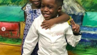 Davido's Daughter, Imade & Tiwa Savage's Son, Jamal Pictured Together at NickFest 2019