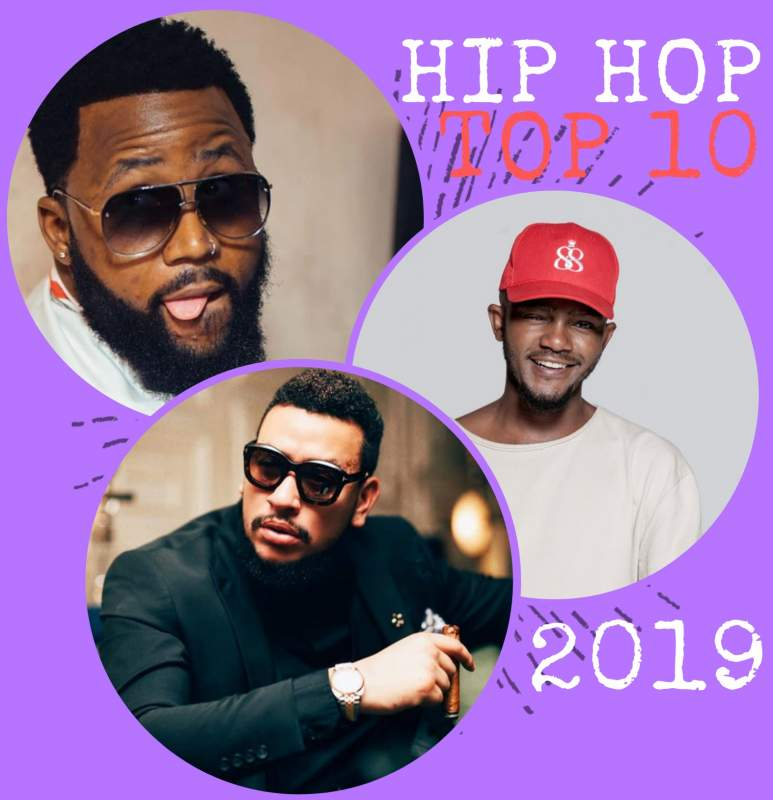 Top 10 South African Hip-hop Songs 2019