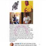 Tonto Dikeh Voices Interest In Vector & MI's 40 Million Rap Battle