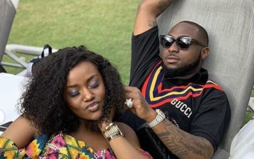 See Davido & Chioma's First Photo Together After Son's Birth