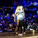 Watch Tiwa Savage & Wizkid French Kiss On Stage In Paris, There's Also Butt Grabbing Action