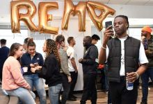 Rema Gets Big Surprise During Visit To Media House In The US