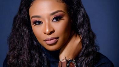 Photo of Fan Covers DJ Zinhle's Revealing Pictures Online