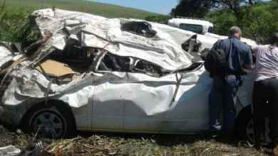 Over Seven Dead After Mini-Bus Rolls Down Embankment in KZN