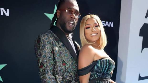 Burna Boy & Stefflon Don Lock Lips As They Celebrate One Year Of Dating