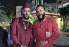 Matthew Mensah Met And Partied With Jidenna In Ghana