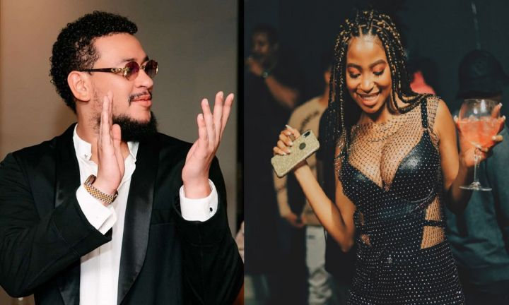 AKA Posts Picture Of A New Lady Days After Confirming Breakup With Ex DJ Zinhle Image