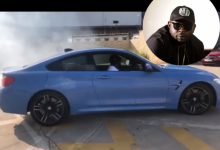 Photo of DJ Maphorisa Ready For Drifting Challenge As He Tests Out New Car