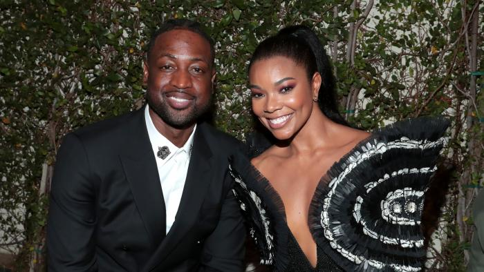 Gabrielle Union and Dwyane Wade Love Up in Paris