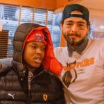 Nasty C And US Rapper, Post Malone Met In Japan
