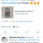"""PdotO's New Single """"Above Water"""" Gets Good Response From SA Rappers, Fans Image"""