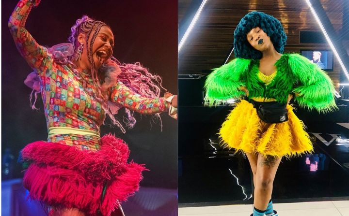 Sho Madjozi And Moonchild Sanelly Rock Out With Diplo Image