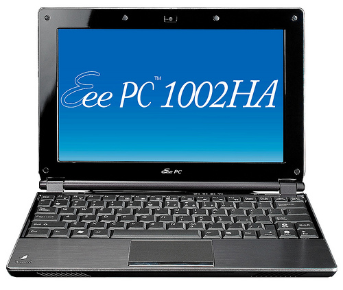 A Glimpse Of The New ASUS Eee PC 1002HA