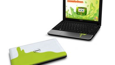 Photo of Dell Does Inspiron Mini Netbook, Nickelodeon Style
