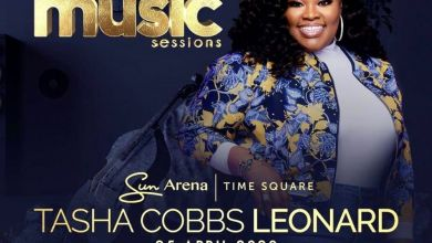 Photo of Benjamin Dube To Support Tasha Cobbs Leonard At Pretoria Concert