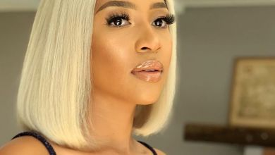 Photo of Blue Mbombo Promotes Silver Bikini From Liquid Liner on Instagram