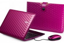 Karim Rashid's Pink Alligator Themed Eee PC 1008P Netbook Collection by ASUS