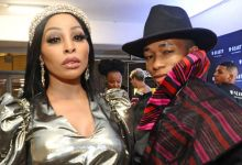 Khanyi Mbau And Lasizwe Share Memories With Late Dad