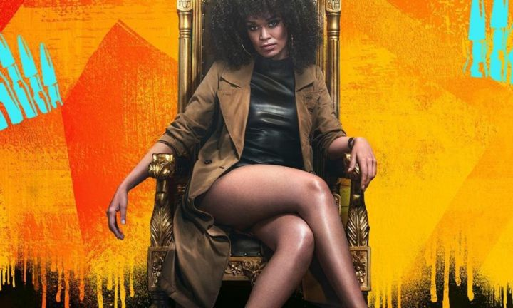 South African Music Industry Shower Pearl Thusi With Love at Queen Sono Premiere