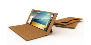 Paper Laptop Concept for Increased Disposability