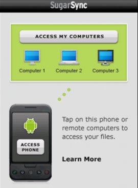 SugarSync Remote Access Tool For Android Netbooks Coming Soon