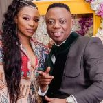 DJ Tira & DJ Zinhle go for a spin in his new luxurious car