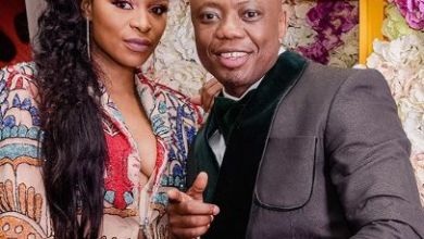 Photo of DJ Tira & DJ Zinhle go for a spin in his new luxurious car