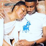 Zodwa Wabantu Strikes A Pose In A White Dress Next To Boyfriend, Vusi Ngubane