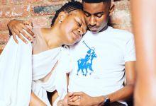Photo of Zodwa Wabantu Strikes A Pose In A White Dress Next To Boyfriend, Vusi Ngubane