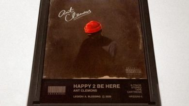 """Ant Clemons Is """"Happy 2 Be Here"""" On New Song"""