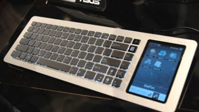 Photo of Asus Eee Netbook Keyboard Runs on Moblin