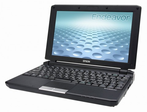 Epson of Japan Launches Endeavor Na01 Netbook