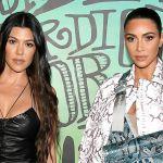 Kim Kardashian Throws Punch At Elder Sister Kourtney
