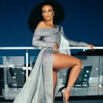 South African Music Industry Shower Pearl Thusi With Love at Queen Sono Premiere Image