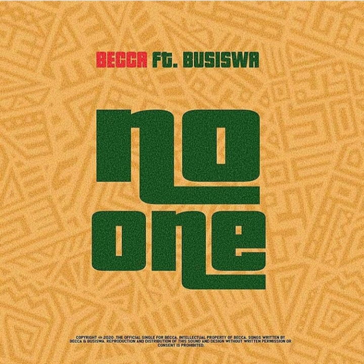 """Ghana-South Africa Connection, Becca Has A Song Titled """"No One"""" Featuring Busiswa"""
