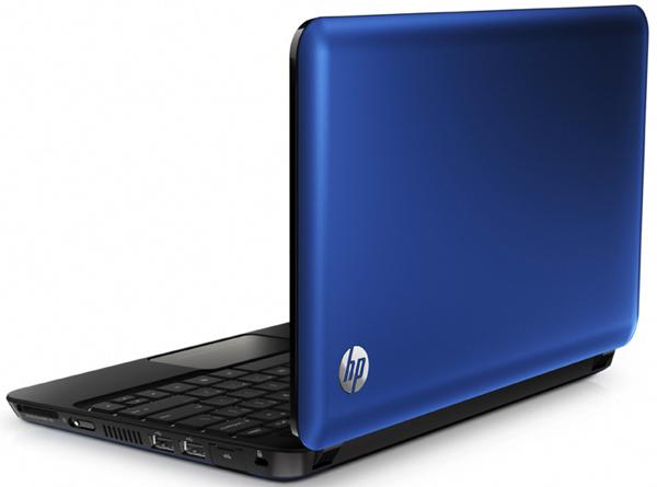 HP Mini 210 Netbook Upgrades to Intel Atom N450 CPU