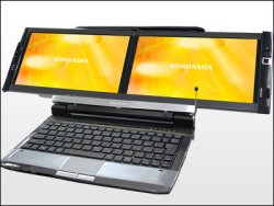 Photo of Dual Screen Laptop to be Made Available in Japan this December