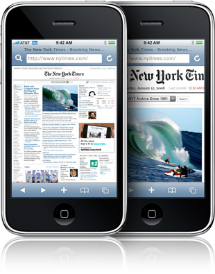 iPhone 3GS's Browser Significantly Faster Than a Netbook's Default Browser