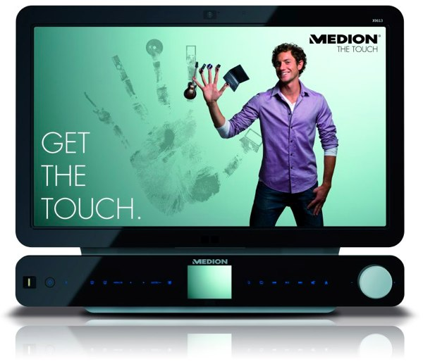 Medion Multitouch All-in-One PC Struts Its Stuff