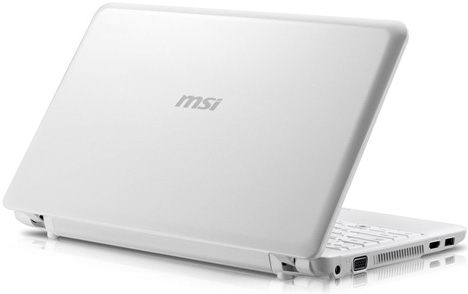 MSI Wind U210 Netbook Available for Pre-Order on Amazon
