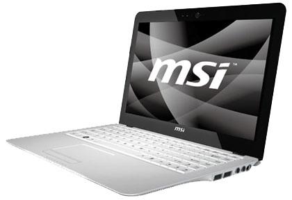 MSI Wind U120 Netbook & X-Slim Laptops Get WiMax Forum Certification