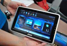 MSI Reveals WindPad 100 Tablet at Computex 2010